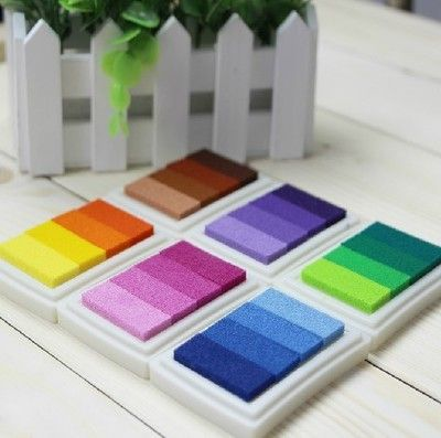 Find More Stamps Information about YG06,6Designs Gradient Color Ink pad/Colorful Cartoon Ink pad/Ink stamp pad/Inkpad set for DIY funny work/Scrapbooking/Album,High Quality ink bag,China ink pens for advertising Suppliers, Cheap ink club from Decor Specialist on Aliexpress.com