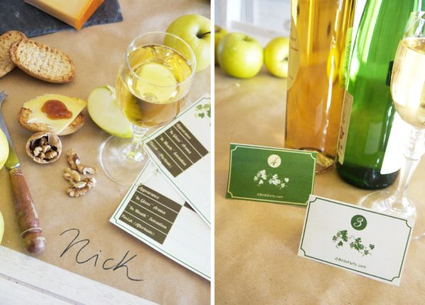 Bird's Party Blog: Cheese and Wine Party Ideas + FREE Printables!