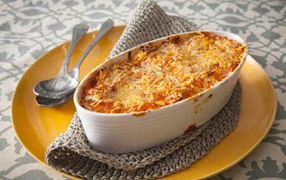 Vegetable Lasagna with Mushroom Sauce