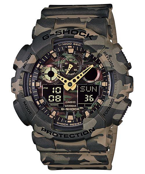 Relógio Casio G-Shock GA-100CM-5A