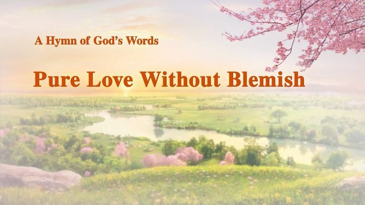 "A Hymn of God's Words ""Pure Love Without Blemish"" 