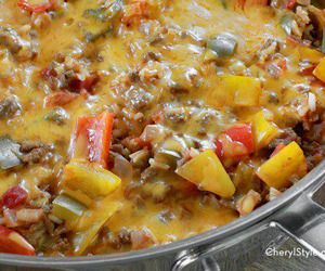 This Lazy Stuffed Peppers Recipe Is A One-pot Wonder For Dinner!