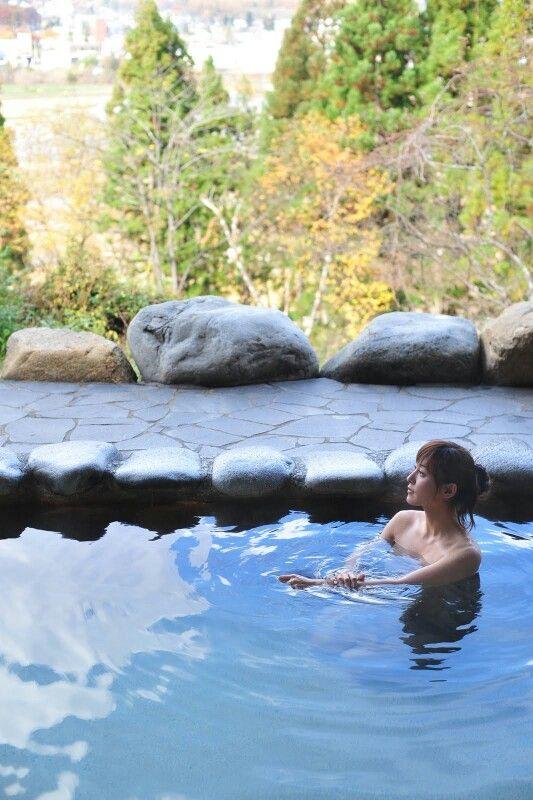 ホテルの露天風呂