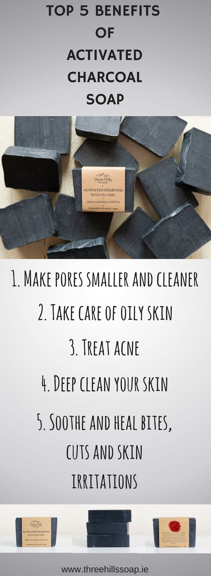 Top 5 benefits of Activated Charcoal Soap | skin problems