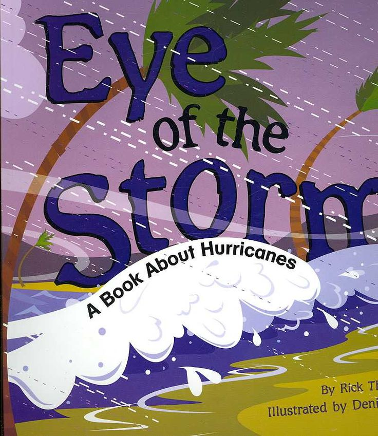 Describes the process of how hurricanes can form. Also includes explanations of tropical storms and a storm surge. Color: Storm.