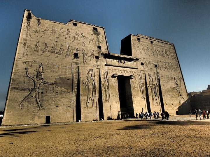 Edfu Temple of the falcon god, Horus