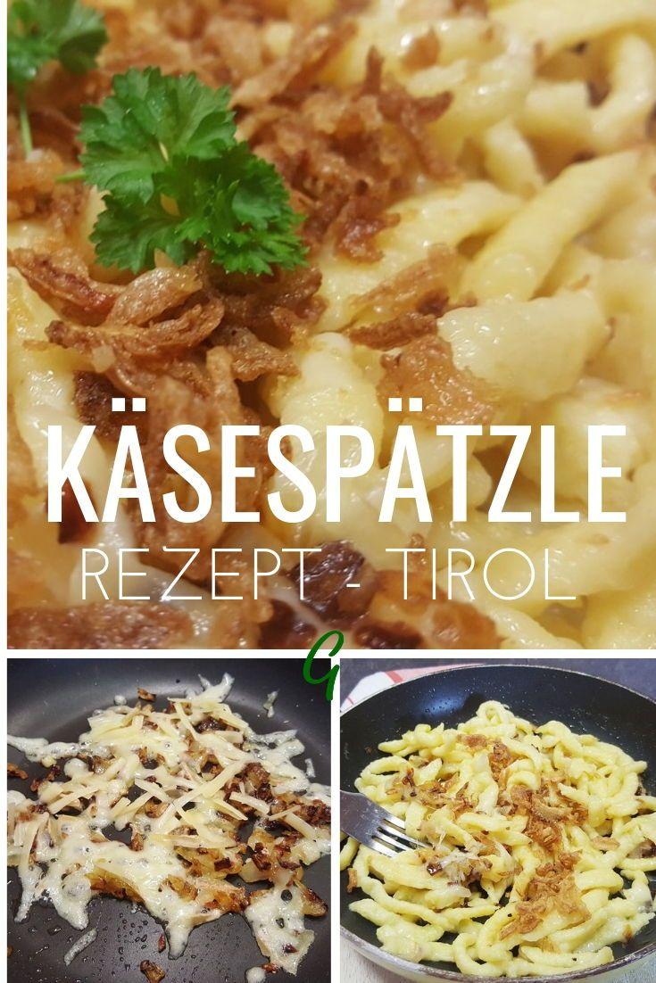 Sudtiroler Kasespatzle Mein Lieblingsrezept Aus Den Bergen Rezept Soulfood Spatzle Rezepte Lecker Kochrezepte