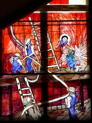 Govan Old Church, Doors Open Day 15&16 Sept, Opening hours: Sat 10.00-16.00, Sun 13.00-16.00  . A-listed on a site of great antiquity.  Priceless stained-glass from 5 English Studios.  Home to the Govan Sarcophagus & Govan Stones including 5 hogbacks.  Govan Old Church, 866 Govan Road, G51 3UU. Tel:.