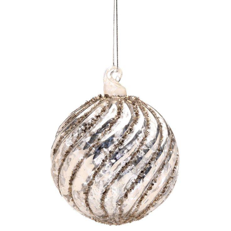 25 einzigartige weihnachtskugeln silber glas ideen auf. Black Bedroom Furniture Sets. Home Design Ideas