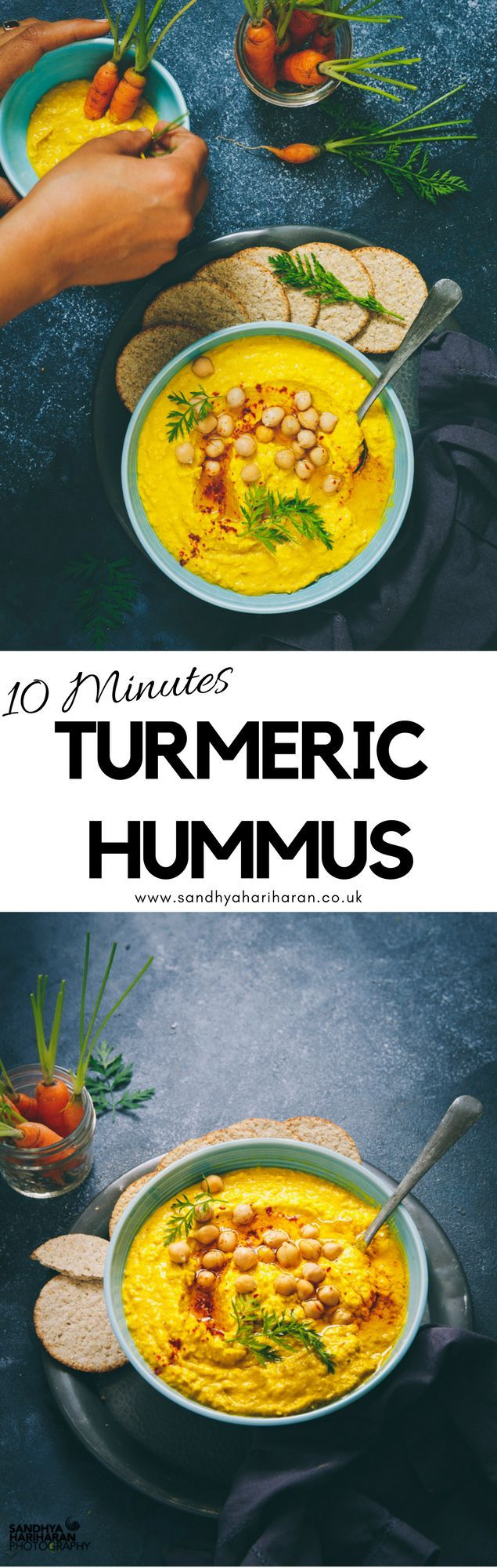 Yes, TURMERIC HUMMUS ! A very close cousin of Golden Turmeric Milk. And You have many many reasons to try them **It is super healthy **Yummy, **Filling, **Delicious and importantly with all the anti inflammatory properties. #turmeric #hummus #turmerichummus #antiinflammatory  #dip