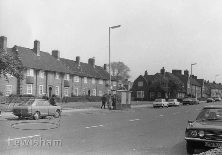 Downham Way Downham Estate Near Bromley Kent England In The 1970 39 S London Borough Of Lewisham