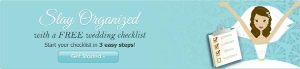 Wedding Interactive Checklist wedding