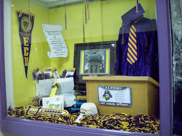 Graduation Window Display