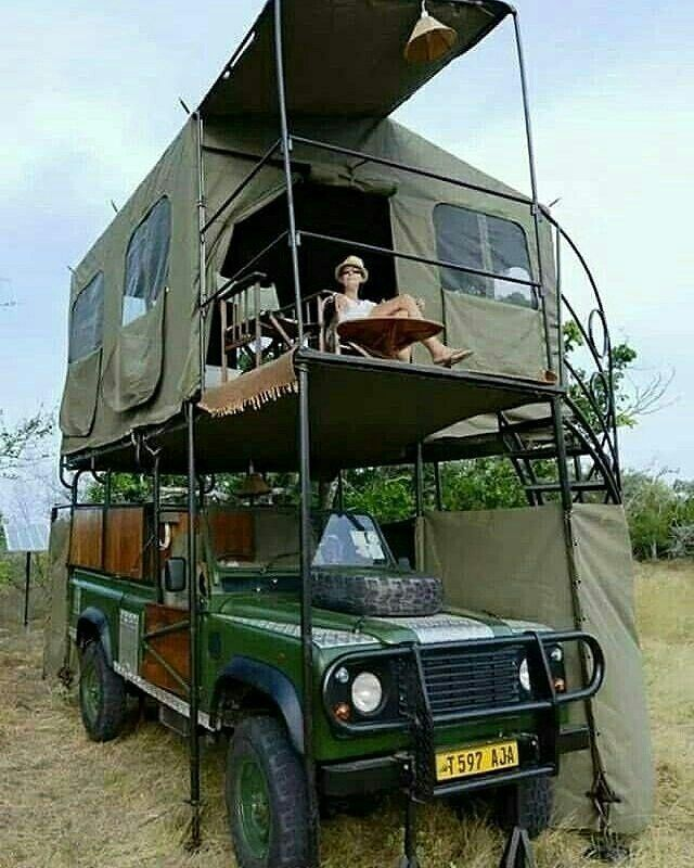 How about this for a bug out vehicle? via @globaloutdoorsurvivalclub1