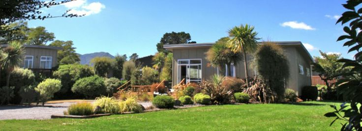 Image of chalet accommodation at Taupo DeBretts