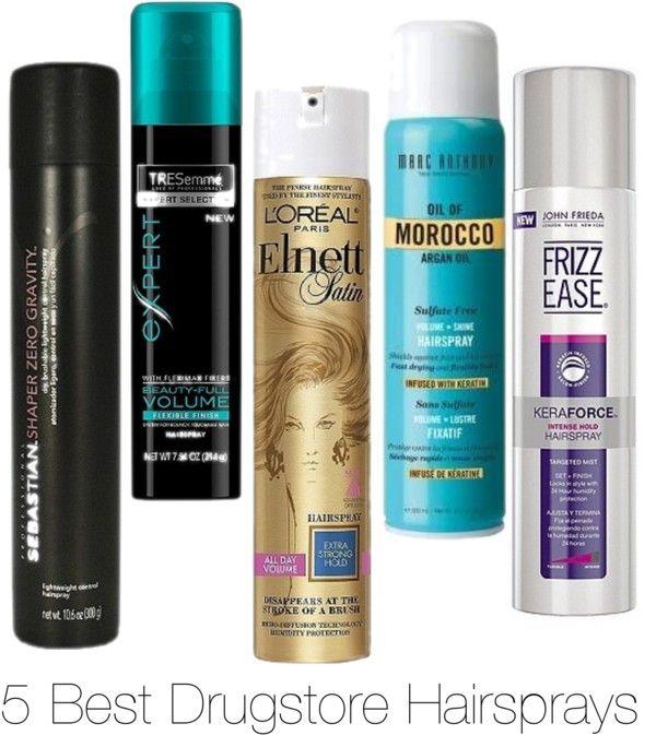 5 Best Drugstore Hairsprays