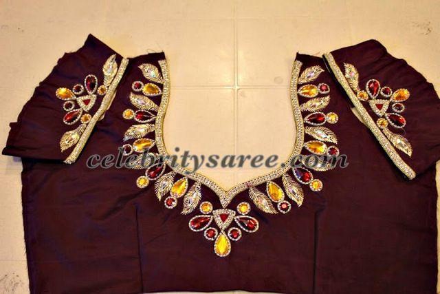 Silk-work-saree-blouse-designs1.jpg (640×427)