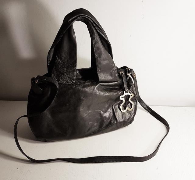 0f0021191 Bolso bandolera TOUS piel genuina negro | bolsos | Bags, Prada, Handle