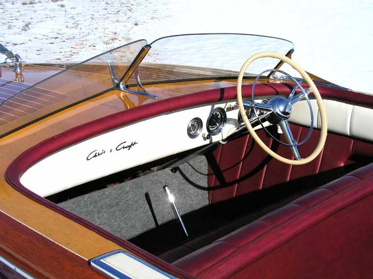 18' 1950 Riviera - fun fact: I love old wooden boats :)