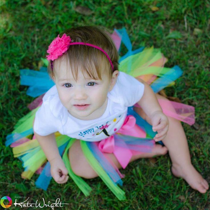 Overhead shots baby girl