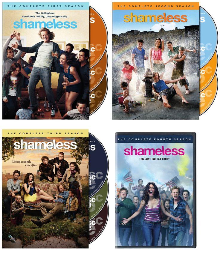Shameless Seasons 1-4 DVD Set