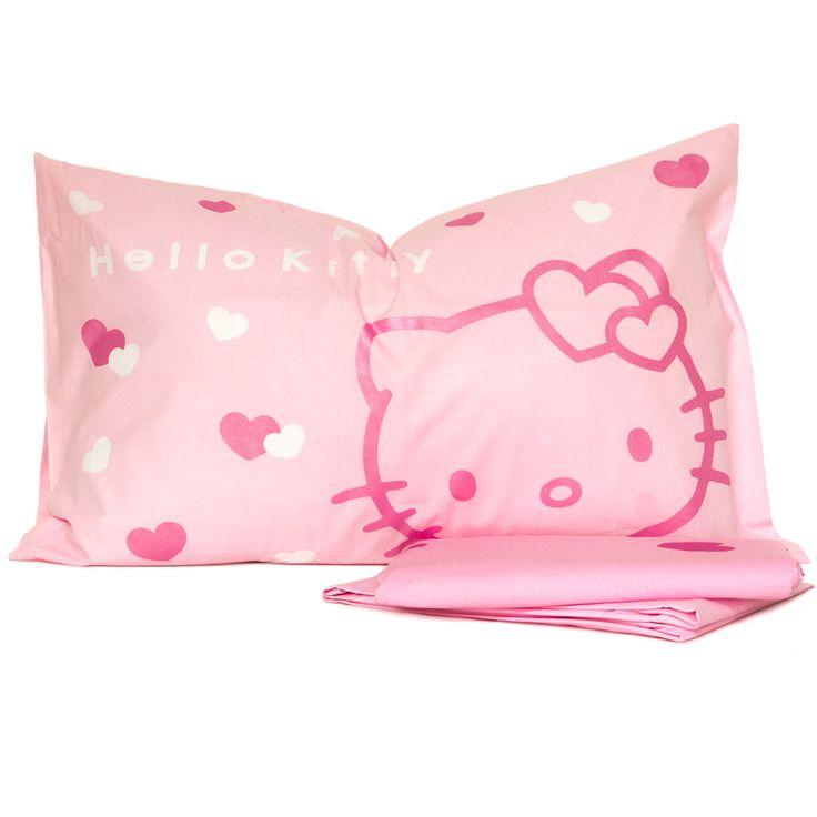 Completo Copripiumino di #hellokitty per sogni in rosa.  #cameretta http://www.carillobiancheria.it/completo-copripiumino-hello-kitty-dis-pink-lady-per-letto-singolo-l659-p-9584.html