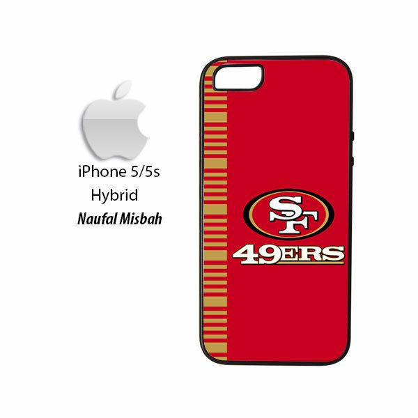 San Francisco 49ers Inspired iPhone 5/5s HYBRID Case Cover