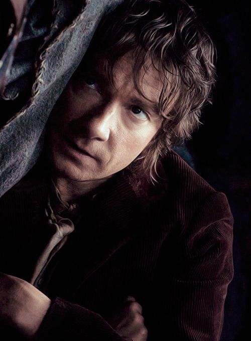 "Martin Freeman as Bilbo Baggins in ""The Hobbit"""