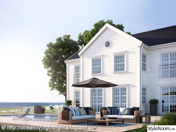 new england hus,new england stil,colonial style,husbygge,myresjöhus,husfasad