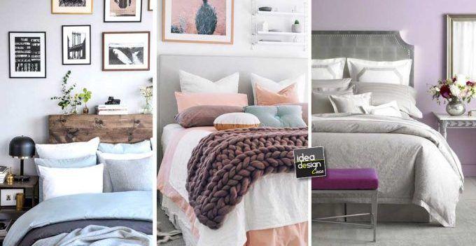 Camera da letto con colori pastello! Ecco 20 idee per ispiravi…