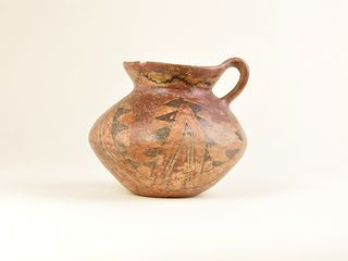 Jarro de cerámica pulida, cultura Diaguita