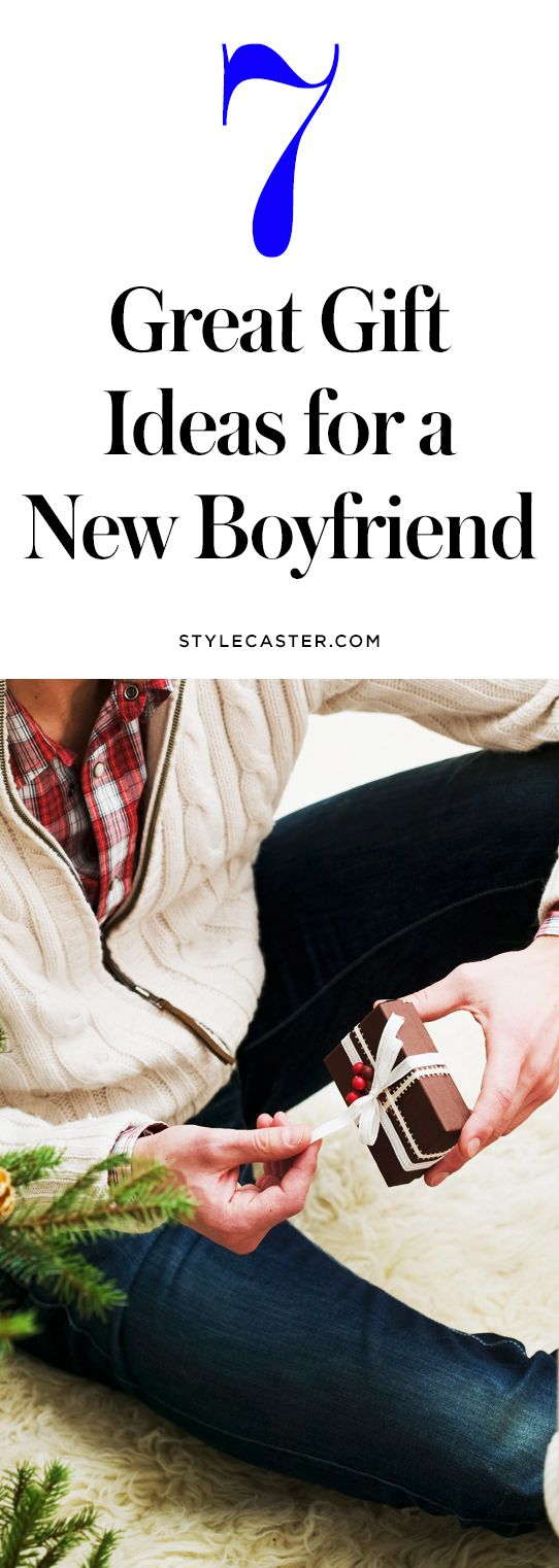 7 great gift ideas for a new boyfriend | @stylecaster | StyleCaster