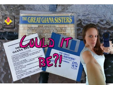 ULTRA RARE The Great Giana Sisters on the Amiga - COULD IT BE?! | TheGebs24