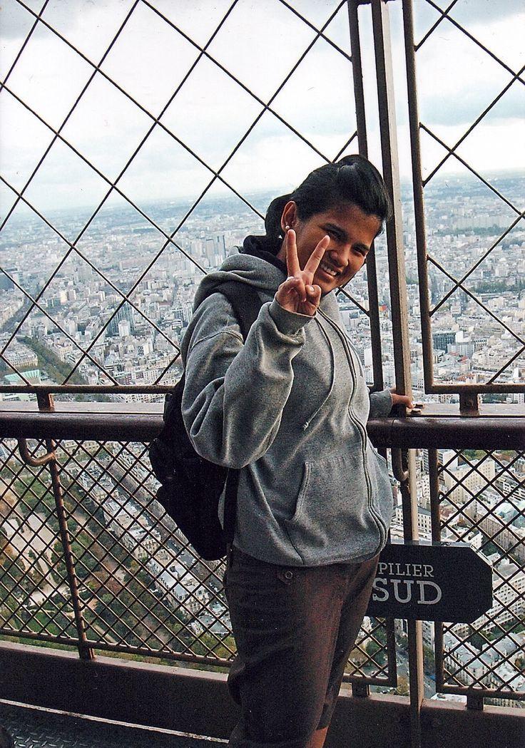 2nd floor of Eiffel tower