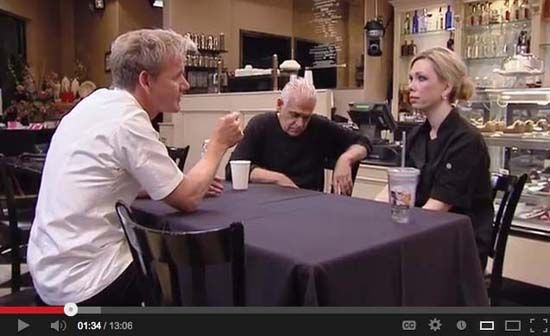 Amy's Baking Company owners and #PR DIY-ers Amy & Sammy Bouzaglo, stars of  Kitchen Nightmares. Fired by Gordon Ramsay, then widely sizzleleaned in online reviews, they get really steamed and serve up the kind of loose canon crazy a reality TV show publicist can only dream of.