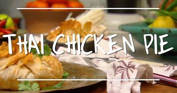 Karen's 'Thai Chicken Pie' looks perfect for these temperatures! - YahStar.com