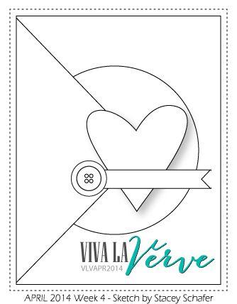 "Thank U Card from Viva la Verve sketch - by atsamom, via Flickr - Vellum ""thank"" and large letter ""u"""