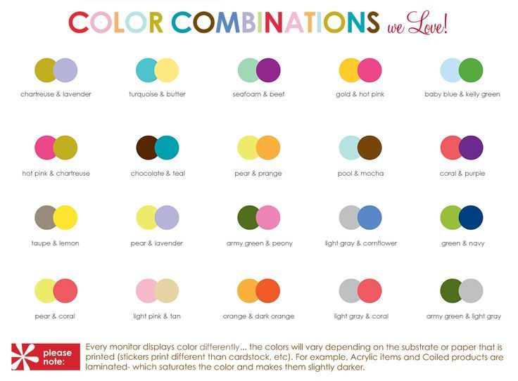 Color Combo Recommendations For Erin Condren Life Planner