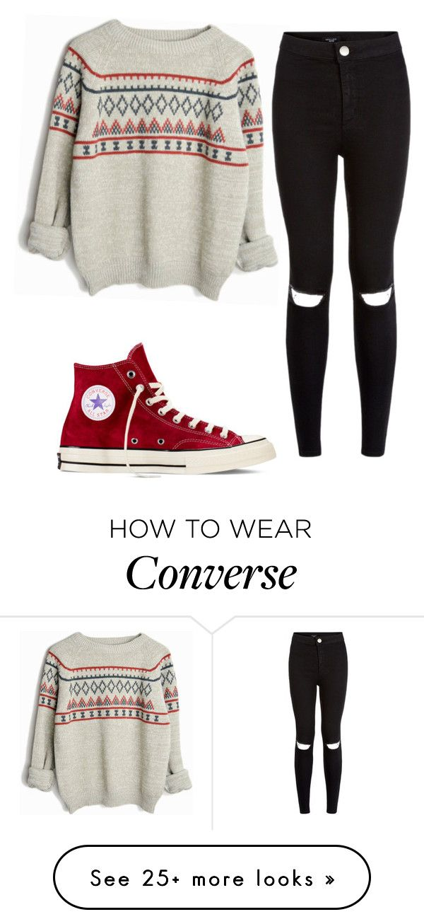 """""""Untitled #888"""" by niallhor on Polyvore featuring moda i Converse"""