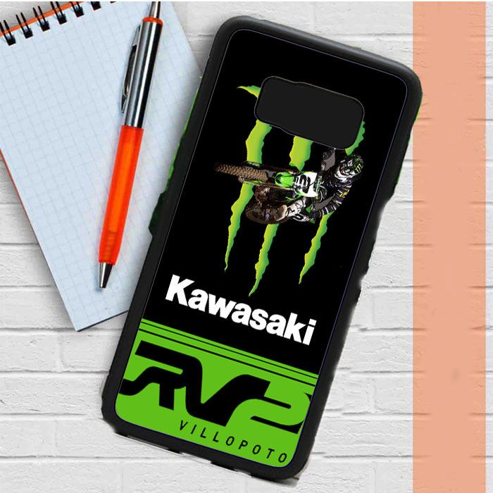Ryan Villopoto Monster Thor Motocross Samsung Galaxy S8 Plus Case Casefreed
