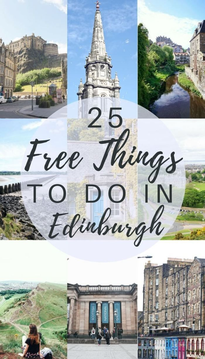 Free things to do in Edinburgh: Scotland. 25 free activities to do in the capital of Scotland!
