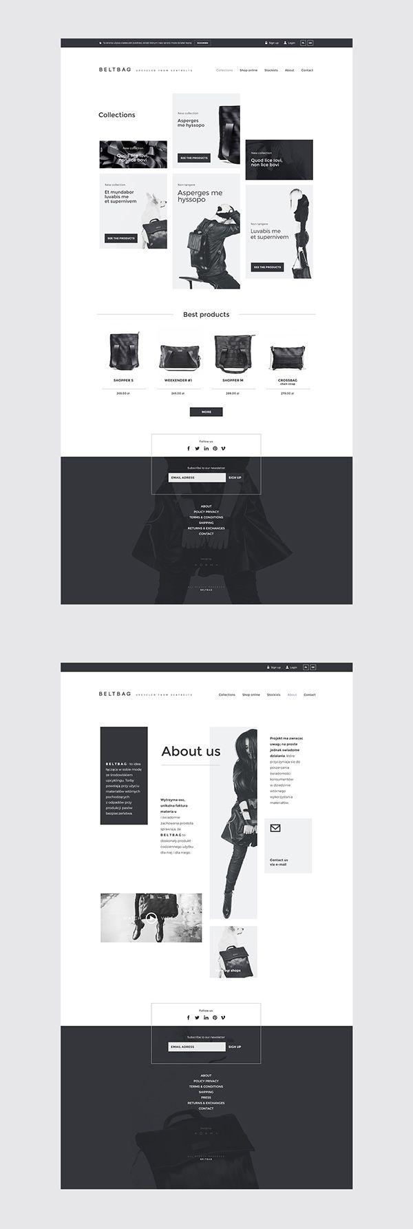Beltbag Website on Web Design Served