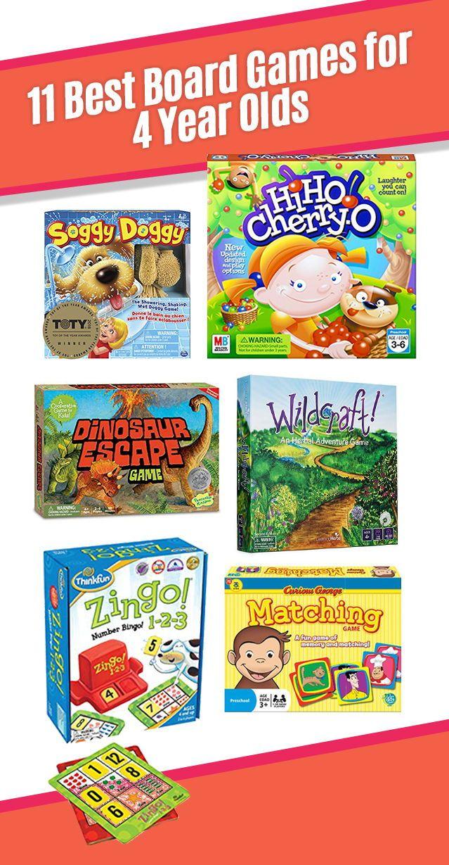 11 Best Board Games for 4 Year Olds in 2020 Fun board