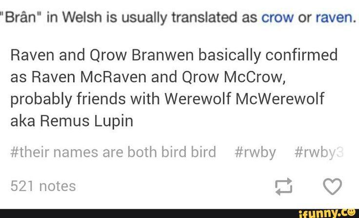 rwby, harrypotter, qrowbranwen, ravenbranwen