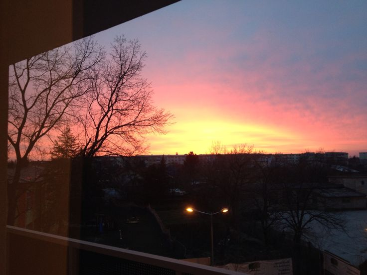 Sunset from my place