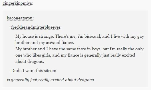 Generally really excited about Dragons.