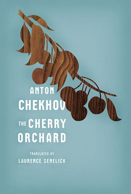 The Cherry Orchard by Anton Chekhov: book cover: designed by Ben Wiseman, Rodrigo Corral Design