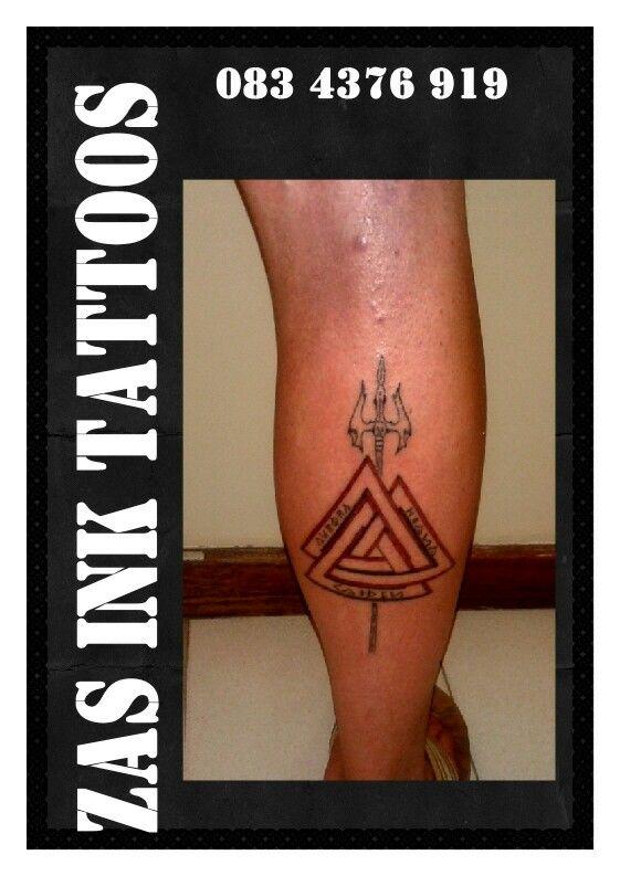 #valknuttattoo, #zasinktattoo, #tattoosamanzimtoti