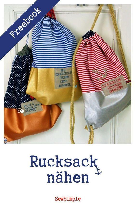 Rucksack nähen für Anfänger