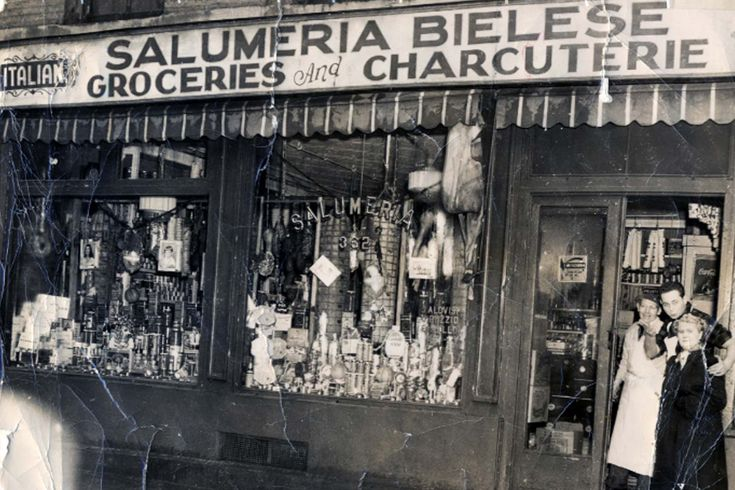 Salumeria Biellese. 8th Avenue below Penn Station in New York city. They have been making their own cured meats and sausages since 1925.  The salumi are based on traditional Piedmontese recipes.